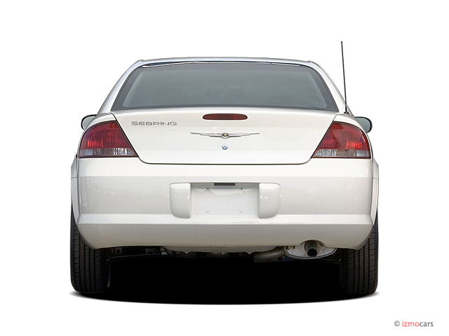 image 2006 chrysler sebring sedan 4 door rear exterior. Black Bedroom Furniture Sets. Home Design Ideas