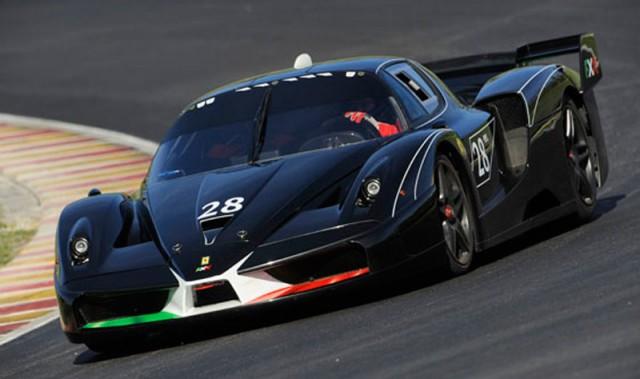 Ferrari Fxx Evoluzione Bugatti Veyron And Peugeot Le Mans