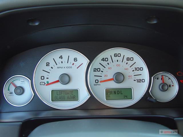 Image: 2006 Ford Escape 4-door 2.3L Hybrid Instrument ...
