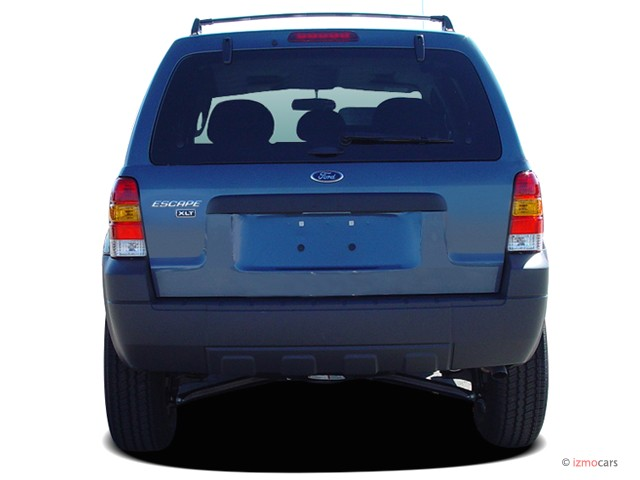 Image: 2006 Ford Escape 4-door 3.0L XLT Rear Exterior View, size: 640 x 480, type: gif, posted ...