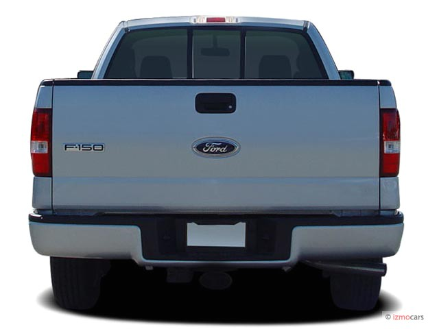 "2006 Ford F-150 Reg Cab 126"" STX Rear Exterior View"