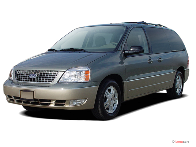 2006 Ford Freestar 4-door Limited Angular Front Exterior View