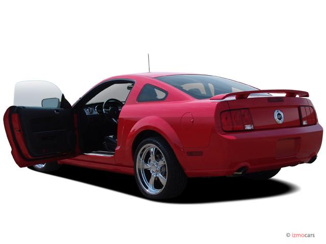 Ford Mustang  Door Coupe Gt Premium Open Doors