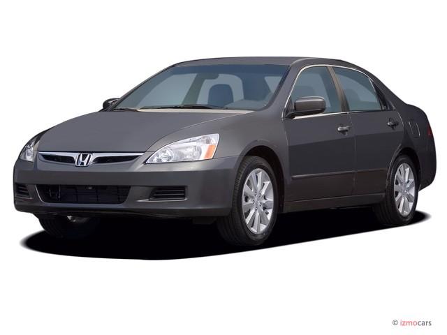 2006 Honda Accord Sedan EX AT Angular Front Exterior View