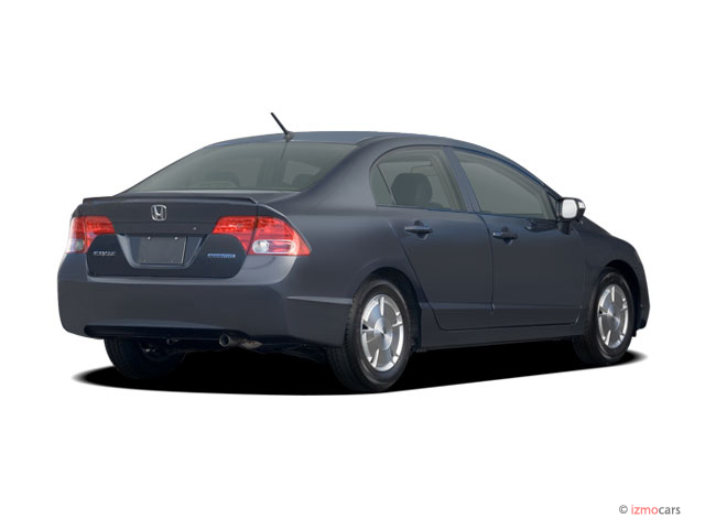 image 2006 honda civic hybrid cvt angular rear exterior view size 640 x 480 type gif. Black Bedroom Furniture Sets. Home Design Ideas