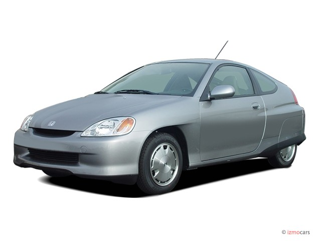 2006 Honda Insight CVT with A/C Angular Front Exterior View