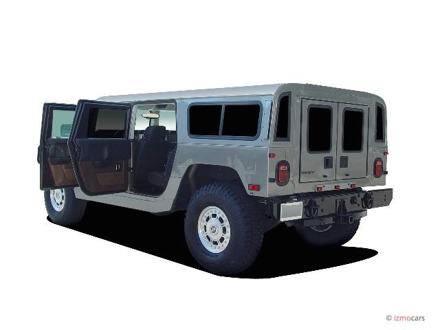 2006 HUMMER H1 4-Passenger Wagon Alpha Open Doors
