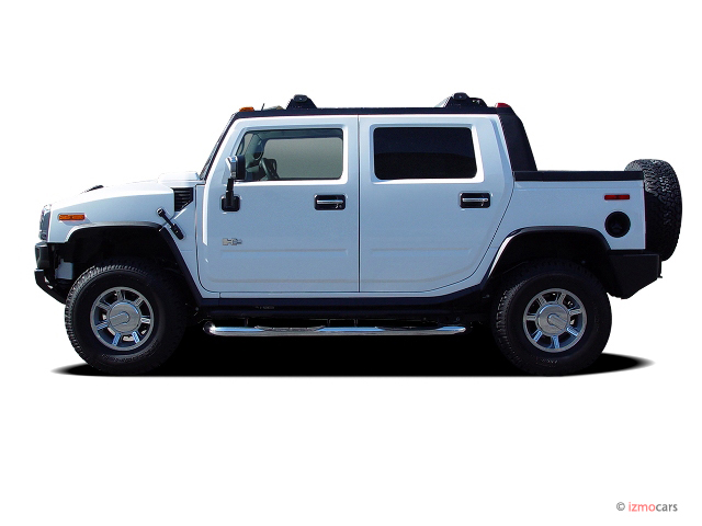 Image: 2006 HUMMER H2 4-door Wagon 4WD SUT Side Exterior ...