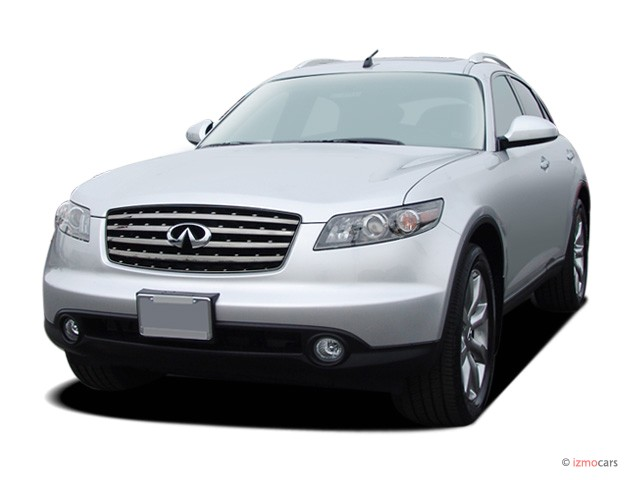 2008 Infiniti FX45 AWD 4-door Angular Front Exterior View