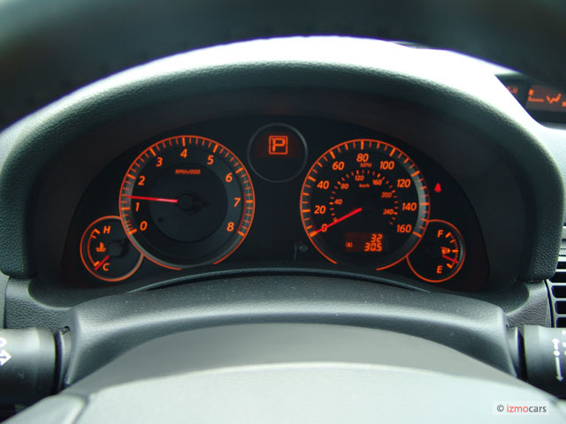 Image 2006 Infiniti G35 Coupe 2 Door Coupe Auto Instrument Cluster