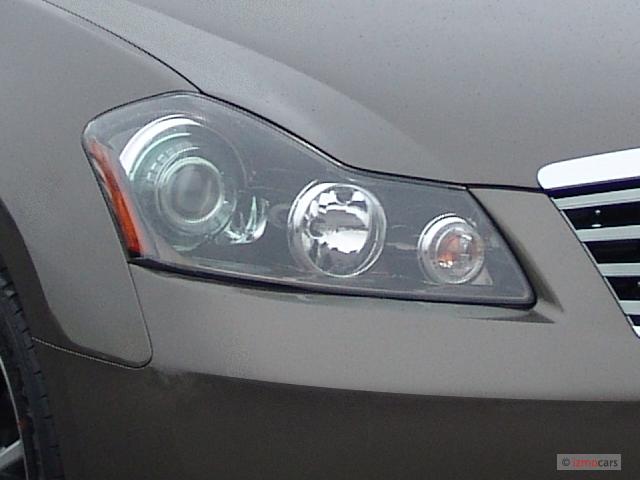 Image: 2006 Infiniti M45 4-door Sedan Sport Headlight ...