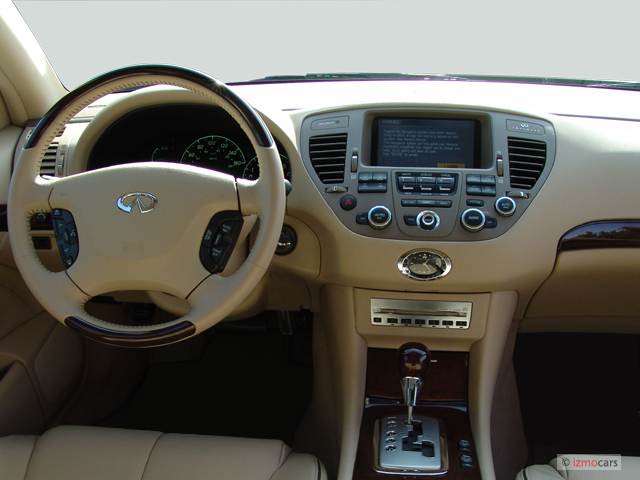 Image: 2006 Infiniti Q45 4-door Sedan Sport Dashboard ...