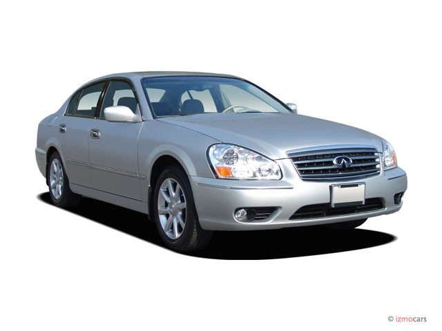 2006 Infiniti Q45 4-door Sedan Sport Angular Front Exterior View