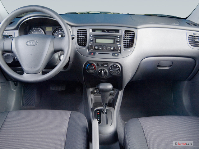 Image 2006 Kia Rio 4 Door Sedan Lx Auto Dashboard Size
