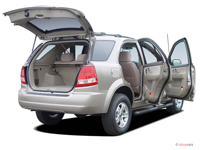 2006 kia sorento vs 2006 kia sportage the car connection. Black Bedroom Furniture Sets. Home Design Ideas