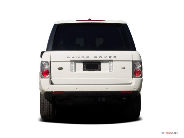 image 2006 land rover range rover 4 door wagon hse rear. Black Bedroom Furniture Sets. Home Design Ideas