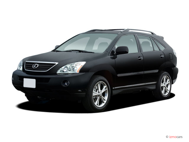 2006 Lexus Rx 400h 4 Door Hybrid Suv Awd Angular Front Exterior View