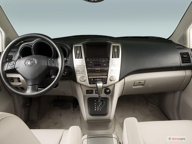 image 2006 lexus rx 400h 4 door hybrid suv awd dashboard. Black Bedroom Furniture Sets. Home Design Ideas