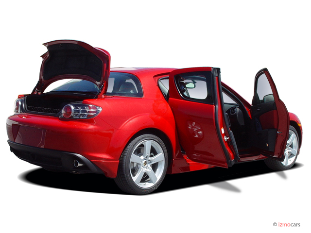 Image 2006 Mazda Rx 8 4 Door Coupe 6 Spd Manual Open Doors Size 640 X 480 Type Gif Posted