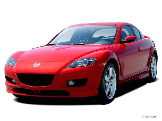 2006 Mazda Rx 8 4 Door Coupe 6 Spd Manual Angular Front Exterior