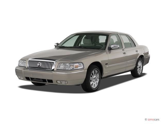 Image 2007 Mercury Grand Marquis 4 Door Sedan Ls Angular