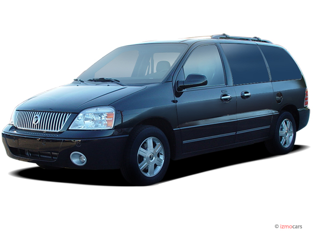 2006 Mercury Monterey 4-door Luxury Angular Front Exterior View