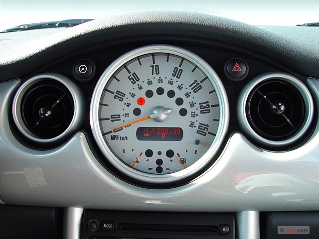 Used Mini Cooper Countryman >> Image: 2006 MINI Cooper Hardtop 2-door Coupe Instrument ...