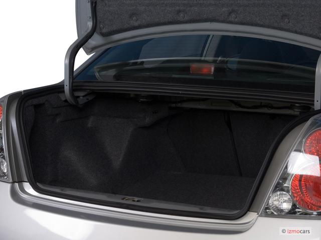 2006 Nissan Altima 4 Door Sedan 2.5 S Auto Trunk