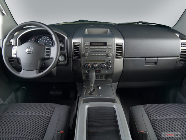 Image 2006 Nissan Armada Se 2wd Dashboard Size 640 X