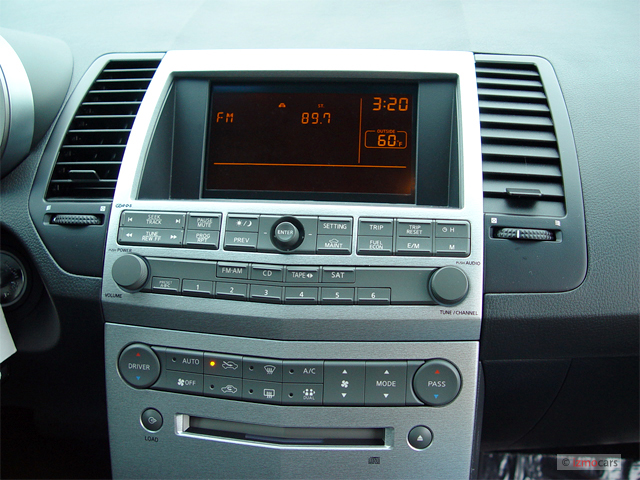 Image: 2006 Nissan Maxima 4-door Sedan SL Auto Instrument ...