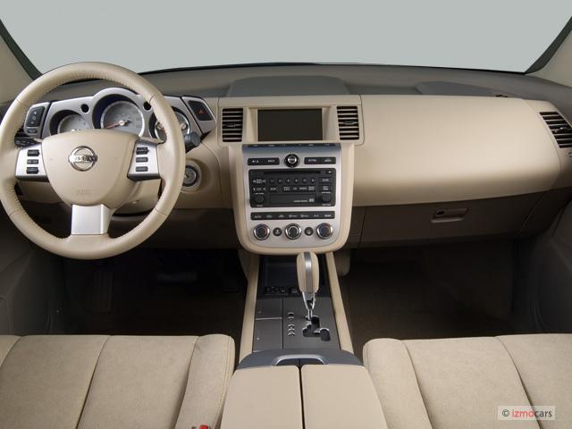 Image 2006 Nissan Murano 4 Door Se V6 Awd Dashboard Size
