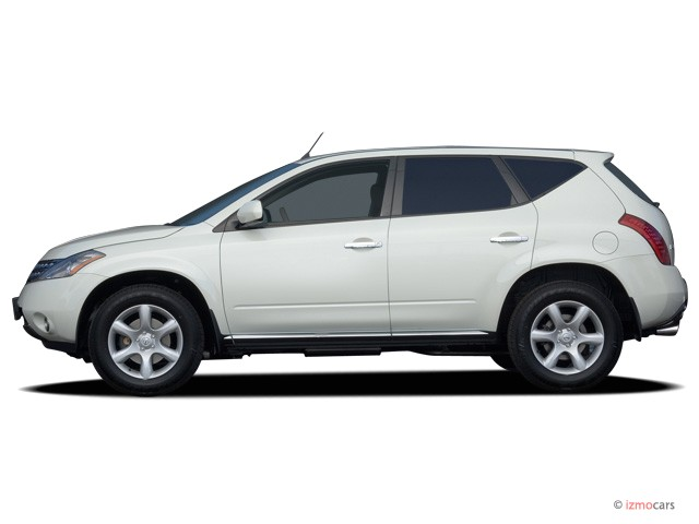 image 2006 nissan murano 4 door se v6 awd side exterior. Black Bedroom Furniture Sets. Home Design Ideas