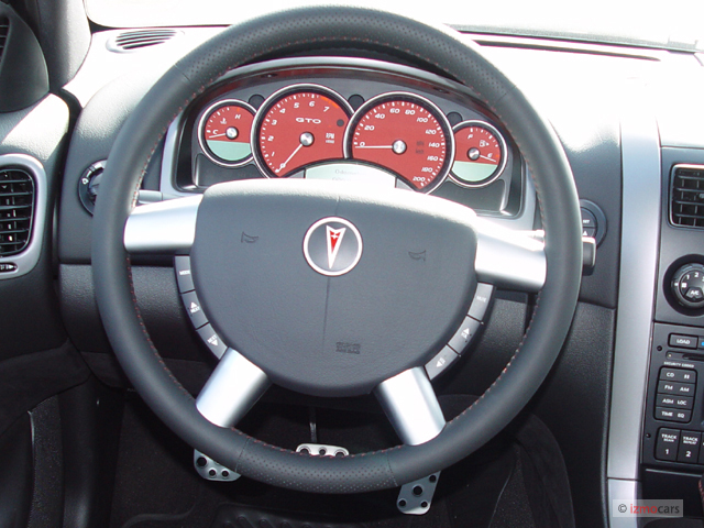 Image 2006 Pontiac Gto 2 Door Coupe Steering Wheel Size