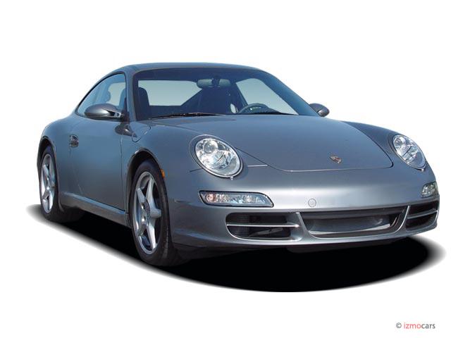 2006 Porsche 911 Carrera 2-door Coupe Angular Front Exterior View