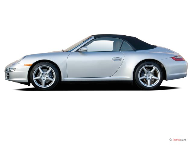 2006 Porsche 911 Carrera 2-door 4 Cabriolet Side Exterior View
