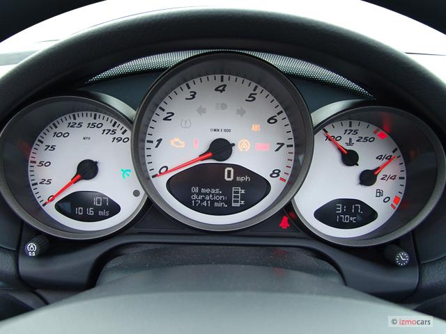 Image: 2006 Porsche Boxster 2-door Roadster S Instrument ...