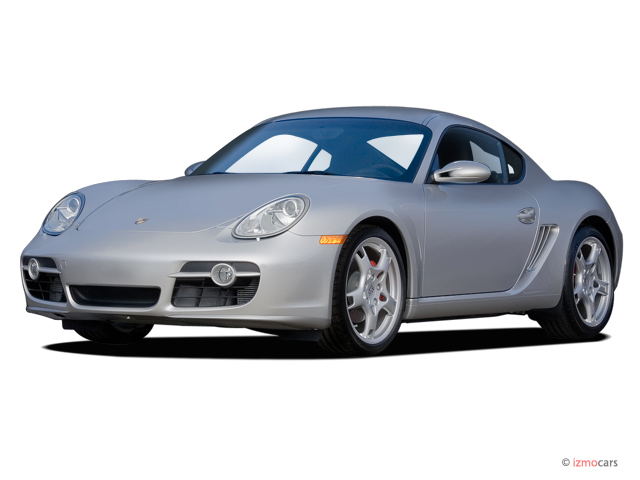 2006 Porsche Cayman 2-door Coupe S Angular Front Exterior View