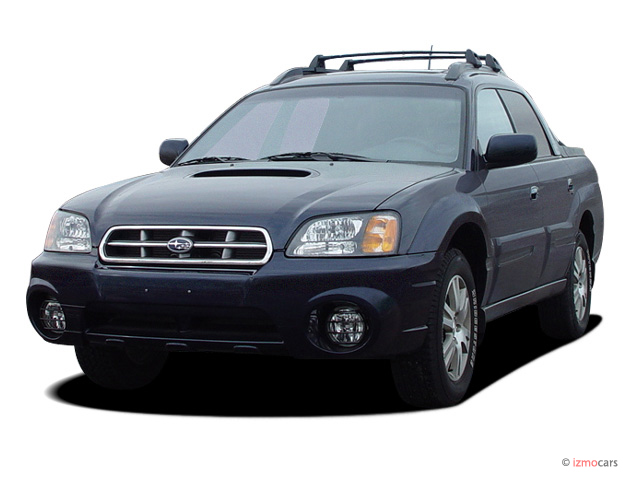 2006 Subaru Baja 4-door Sport Manual Angular Front Exterior View