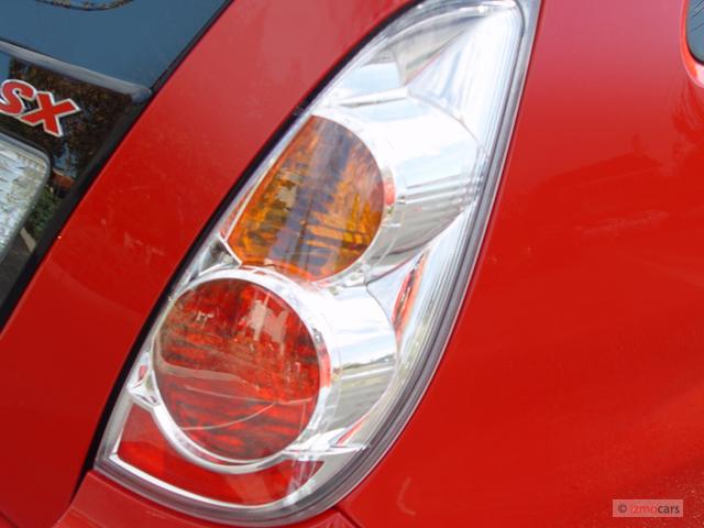 2006 Suzuki Aerio Red