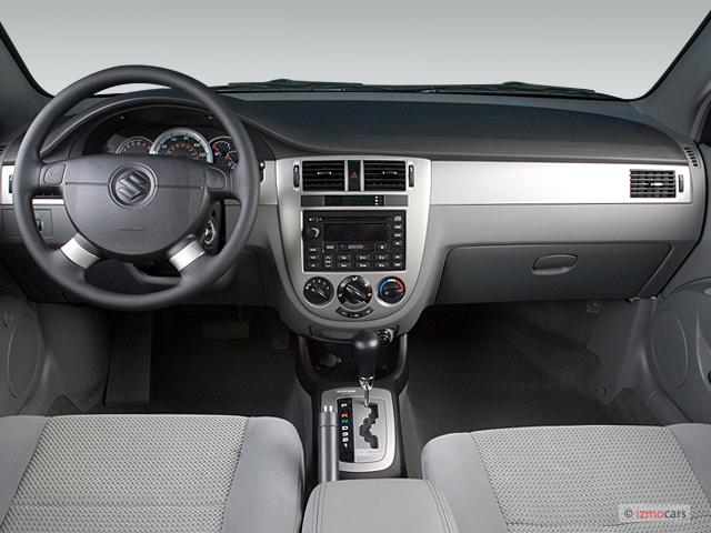 image: 2006 suzuki forenza 4-door wagon auto dashboard, size: 640