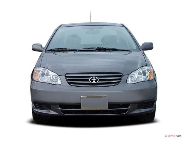 Image Toyota Corolla Door Sedan LE Auto Natl Front - 2006 corolla