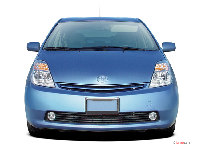 Image: 2006 Toyota Prius 5dr HB (Natl) Front Exterior View ...
