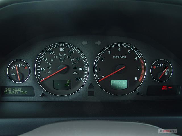 Image: 2006 Volvo S60 2.5L Turbo Auto Instrument Cluster ...