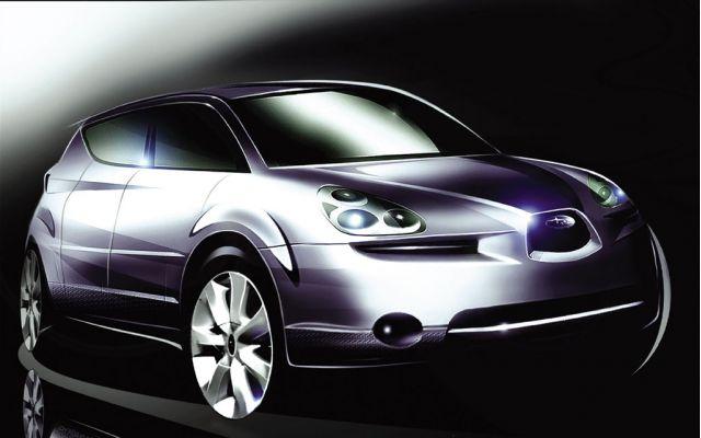 2006 Subaru B9X