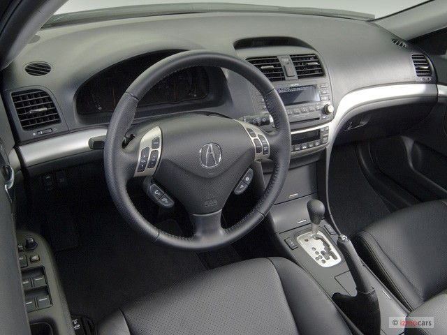 Image 2007 Acura Tsx 4 Door Sedan At Dashboard Size 640