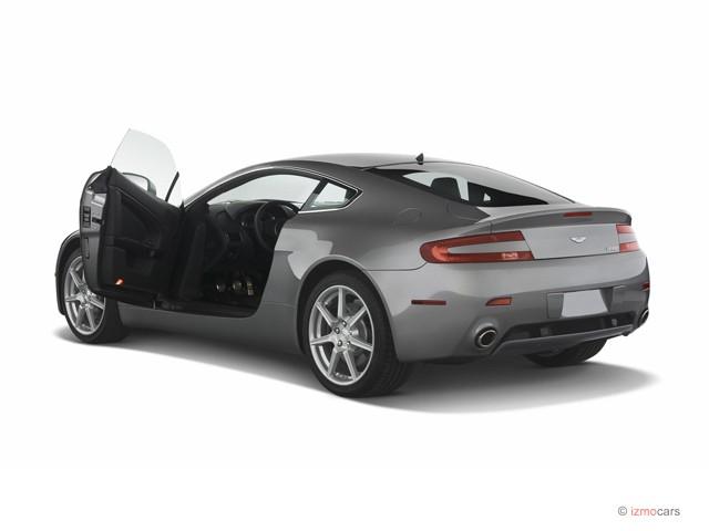 2007 Aston Martin Vantage 2-door Coupe Manual Open Doors