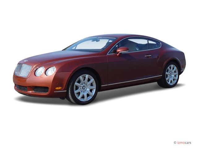 2007 Bentley Continental GT 2-door Coupe Angular Front Exterior View