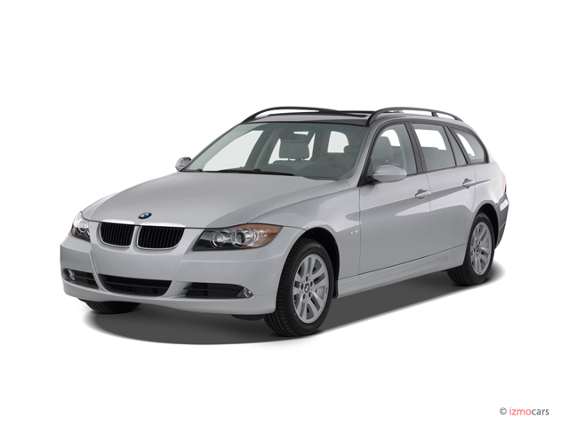 Image 2007 Bmw 3 Series 4 Door Sport Wagon 328i Rwd Angular Front Exterior View Size 640 X