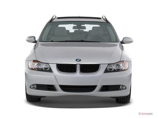 2007 BMW 3-Series 4-door Sport Wagon 328i RWD Front Exterior View