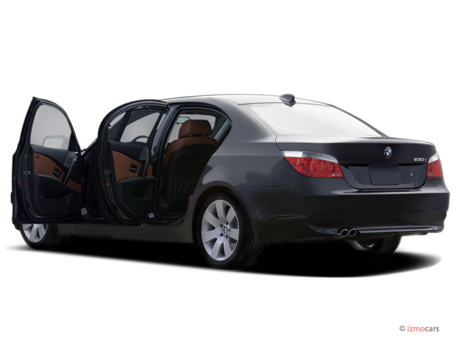 Image: 2007 BMW 5-Series 4-door Sedan 530i RWD Open Doors ...